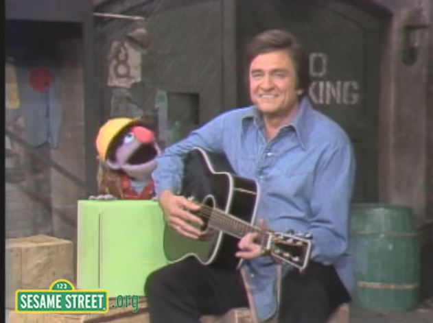 Remember When Johnny Cash Appeared on 'Sesame Street?'