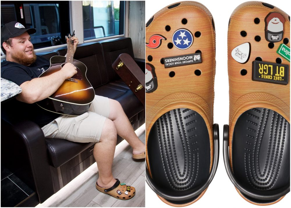 Luke Combs Partners With Crocs for Signature Shoe