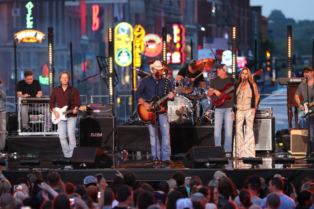 Toby Keith and Cole Swindell Combine for Unforgettable Two-for-One CMT Awards Performance